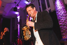 Partyband Sax