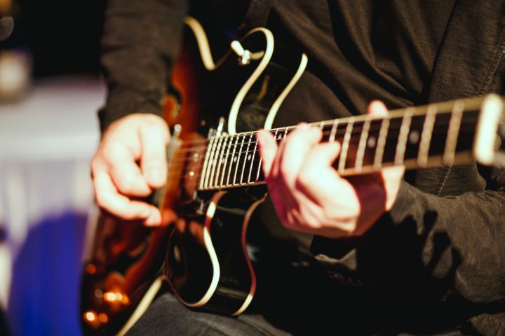 Gitarre Liveband