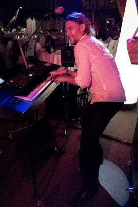 Partyband keyboarder