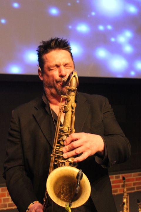 Saxofonist Galaband